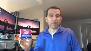Benadryl Allergy Liquid Gels Review And Testimonial
