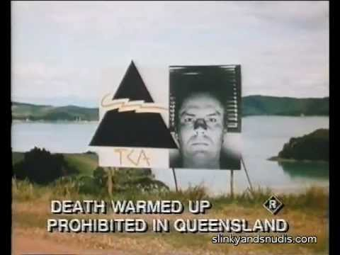 Death Warmed Up — NZ exploitation film — Trailer (1984) — Banned in Qld — VHS video nasty