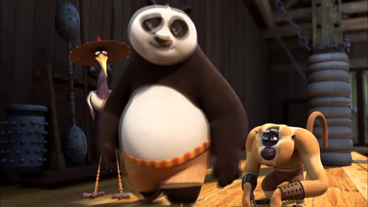 панда серия незноком конг фу ночной