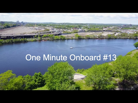 Boat Tracking in the Charles River - Mavic Pro - One Minute Onboard #13