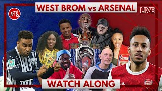 West Brom vs Arsenal | Watch Along Live