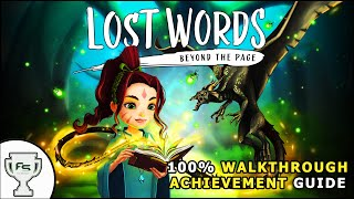Lost Words: Beyond The Page 100% Walkthrough/Trophy Achievement Guide screenshot 3