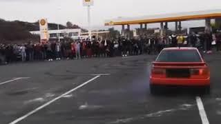 Audi S2 Burnout