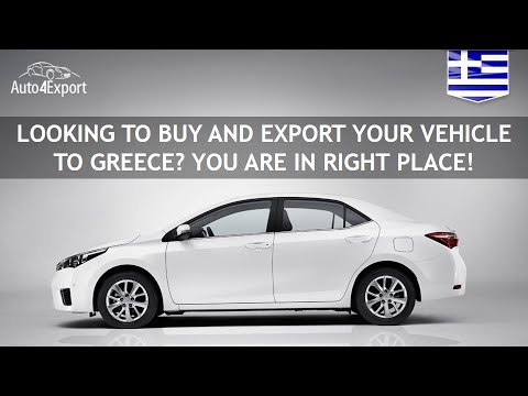Shipping cars from USA to Greece - Auto4Export