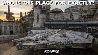 Has Star Wars: Galaxy's Edge backfired for Disney? Where have the crowds gone?