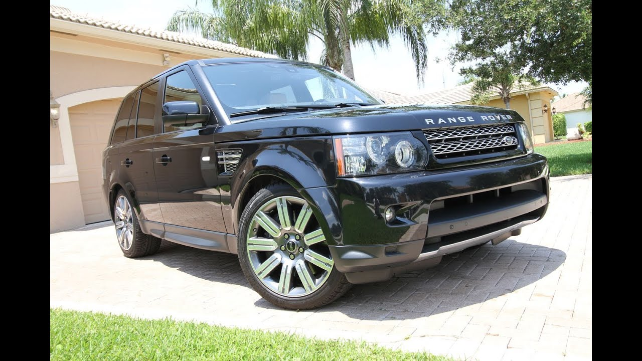 2012 Land Rover Range Rover Sport Supercharged runs 132  106 MPH