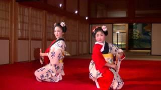 2015.4.25熊本城本丸御殿春の宴 立方 花童あかね・花童ゆりあ.