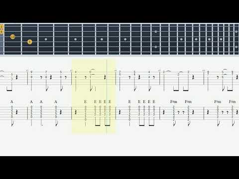 All My Loving - chords version - Guitar Tab (The Beatles) - How to ...