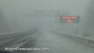 12/11/2013 Pulaski, NY Lake Effect Snow