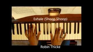 Exhale (Shoop Shoop) Robin Thicke/Whitney Houston Cover