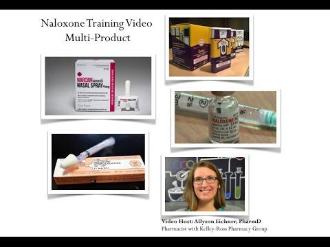 Four Naloxone Training Videos