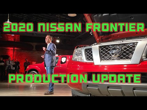 2020 Nissan Frontier Is Coming But When?