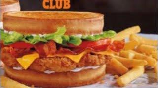 Video Burger King Sourdough Chicken Club Reviewed Twice download MP3, 3GP, MP4, WEBM, AVI, FLV Mei 2018