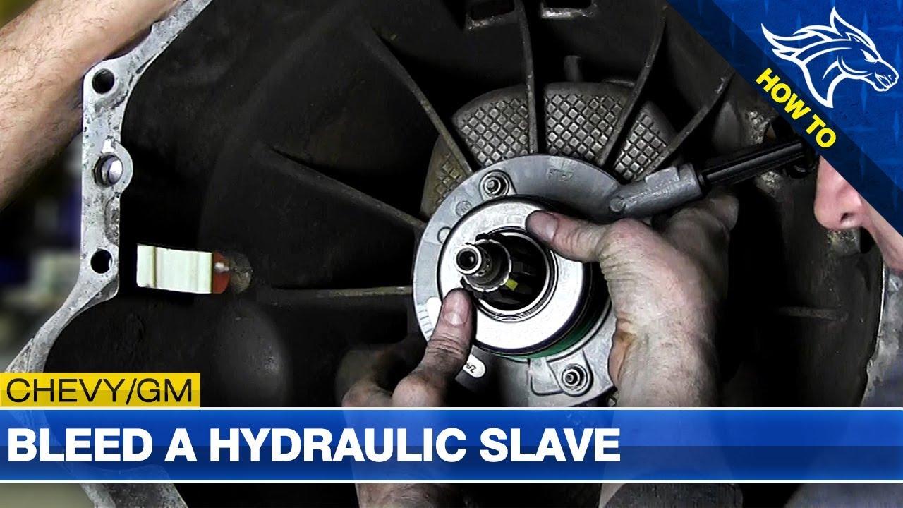 hydraulic slave cylinder bleeding procedure how to  [ 1280 x 720 Pixel ]