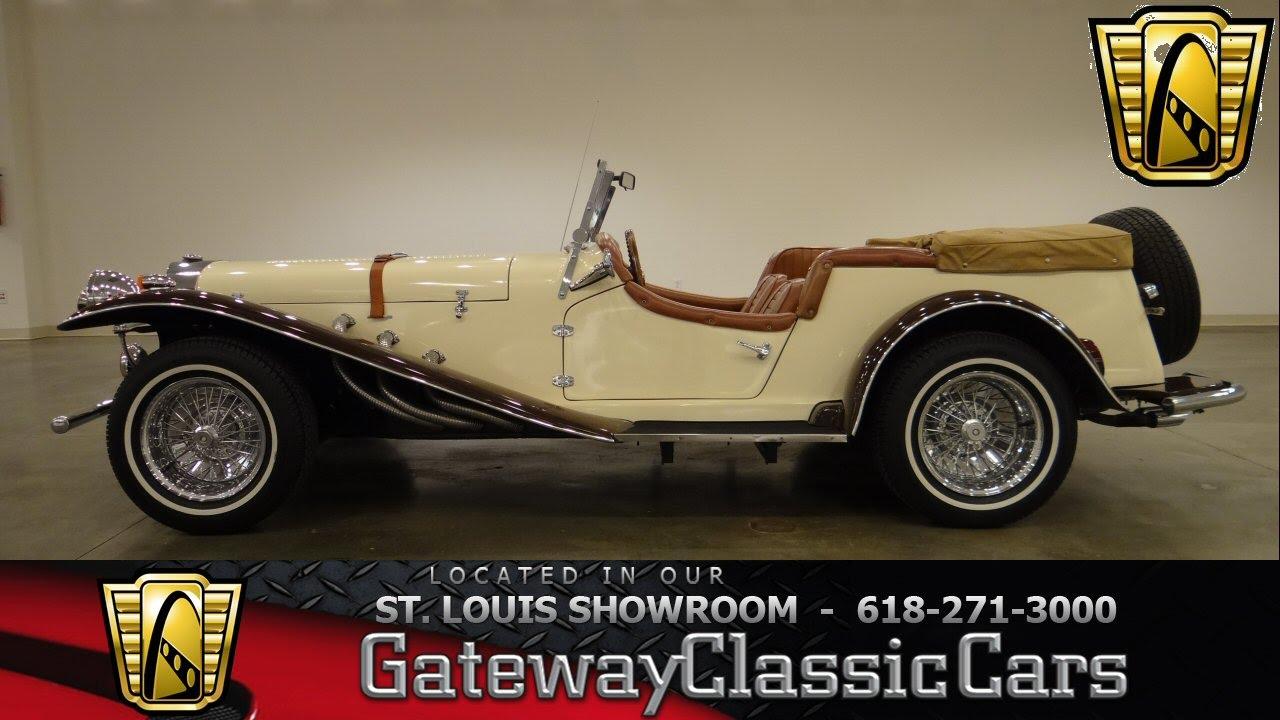 1929 Mercedes Benz Gazelle Gateway Classic Cars St Louis 6330