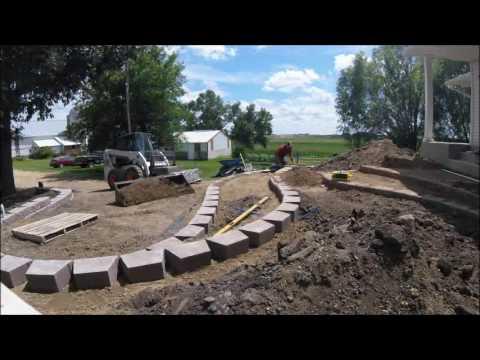 Landscape Construction Timelapse