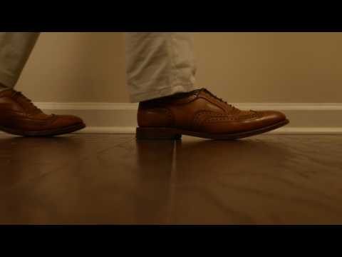 Walking In Leather - Shoe Tips Episode