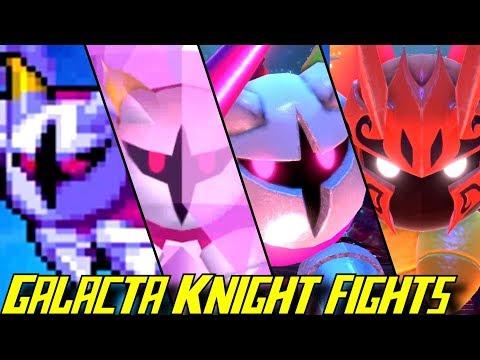 Evolution of Galacta Knight Battles (2008 - 2018)