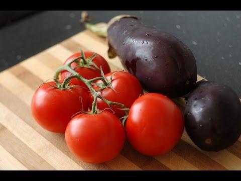Как запечь баклажаны в духовке для салата