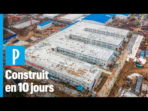 Coronavirus: la construction de l'hôpital de Wuhan en accéléré