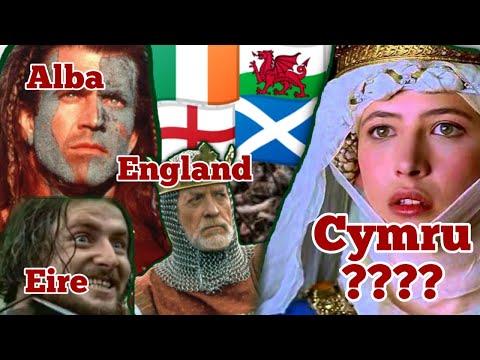 Braveheart 1995 England Alba Cymru Eire