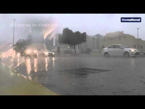Compilation of wild weather across the UAE