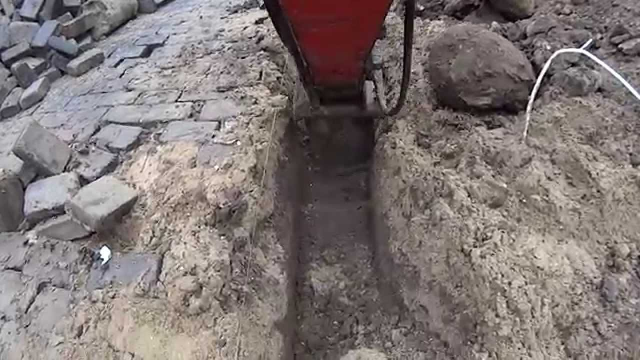 Digging foundation youtube for Digging foundation for house