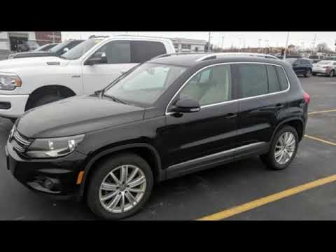 Used 2015 Volkswagen Tiguan WISCONSIN, WI #B9931A - SOLD