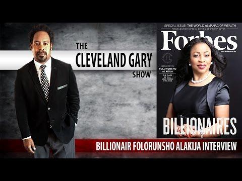 Cleveland Gary Show Folorunsho Alakija Interview