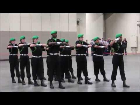 Atholton High School Drill Team Unarmed Exhibition Regionals 2019