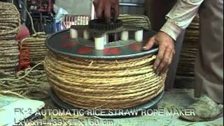 FK-2 Automatic Rice Straw Rope Maker from Fong Chow Agricultural Machinery
