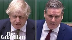 PMQs: Keir Starmer accuses Boris Johnson of failure to protect care homes