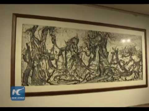 Exhibit of Chinese master artist in Singapore