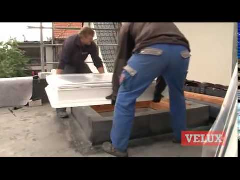 flachdach fenster projekt in hamburg lokstedt velux youtube. Black Bedroom Furniture Sets. Home Design Ideas