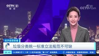《经济信息联播》 20191116| CCTV财经
