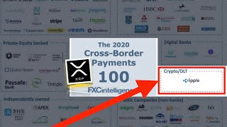 BREAKING NEWS! Ripple Is Top 100 Company in ALL PAYMENTS - XRP to EXPLODE! Tezos, Visa & SEC UPDATE.