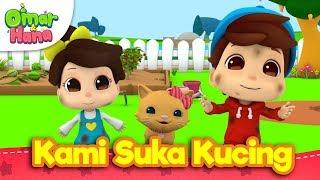 Lagu Kanak-Kanak Islam | Kami Suka Kucing | Omar & Hana