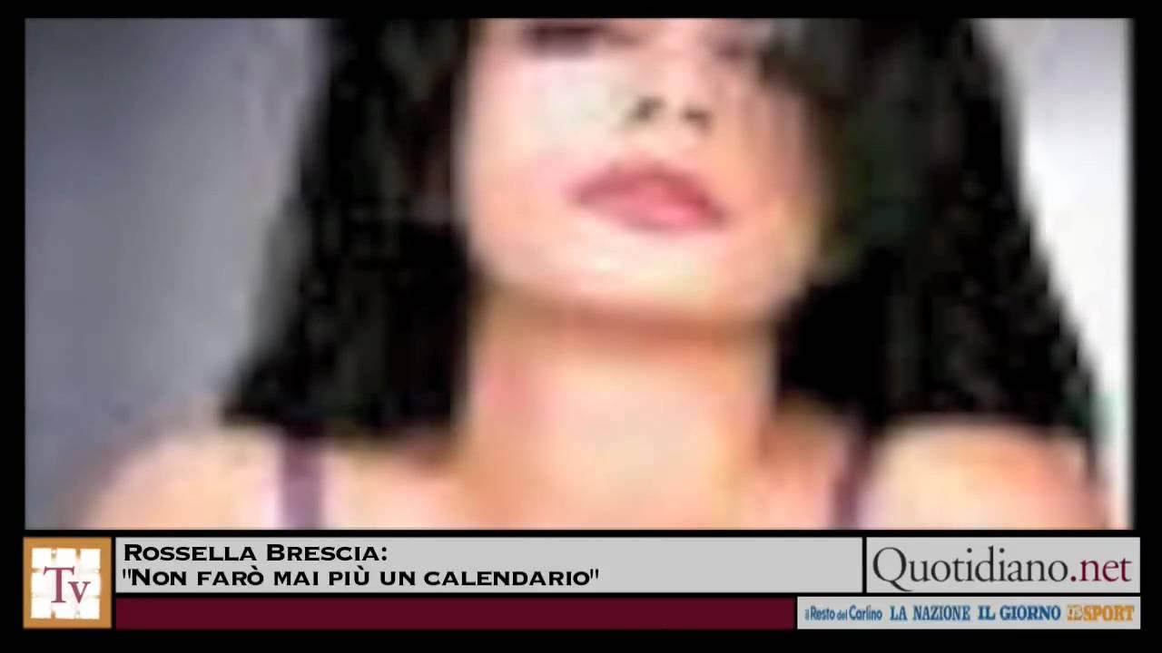 Rossella Brescia Calendario.Rossella Brescia Non Faro Mai Piu Un Calendario