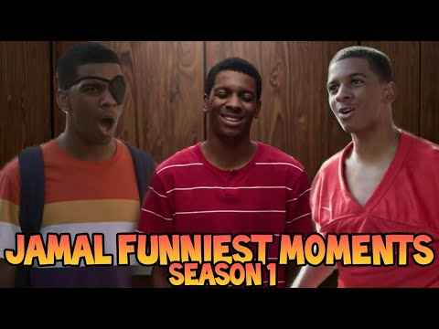On My Block (Season 1) - Jamal Funniest Moments - Episodes 1-10 (Brett Gray)