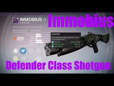Destiny TTK: Defender Shotgun