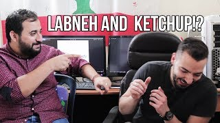 Who Knows Lebanon Better?! Disgusting Lebanese Food Challenge