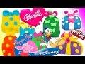 Ovetti Sorpresa Barbie ITA Giochi per bambini Peppa pig Italiano Paperino Uova di Pongo Play doh