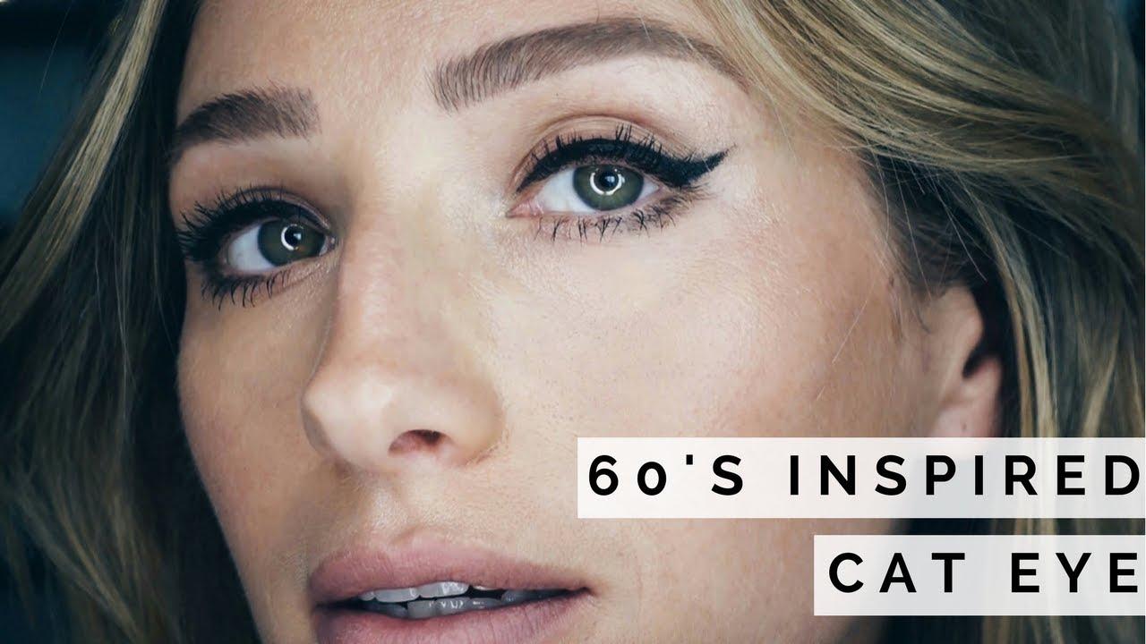 Audrey Hepburn 60s Inspired Cat Eye Makeup Youtube - Audrey-hepburn-makeup
