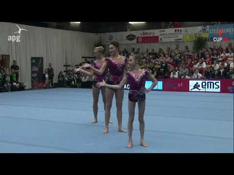 FIAC 2018 WORLD CUP RUS DYN Daria CHEBULANKA Polina PLASTININA Kseniia ZAGOSKINA