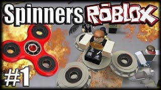 FIDGET SPINNERS no ROBLOX Metalworks - Ep 1 - O Primeiro Modelo!