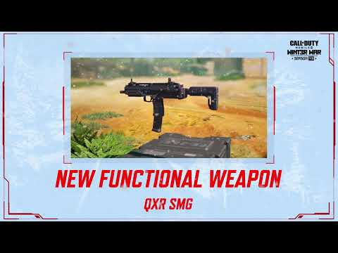 Call of Duty®: Mobile S13 New Weapon | QXR SMG