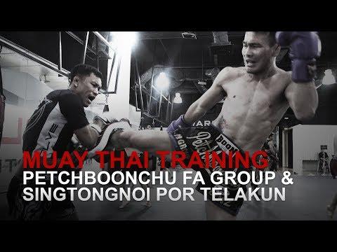 Muay Thai World Champion Petchboonchu FA Group Sharpens His Tools!