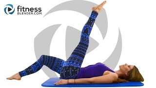3 Day Flexibility Challenge Day 2: Pilates Yoga Blend for Flexibility and Toning #FBreach