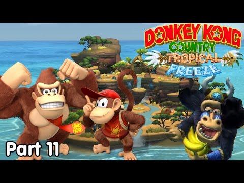 Slim Plays DKC: Tropical Freeze - #11. Monkey Business...Literally