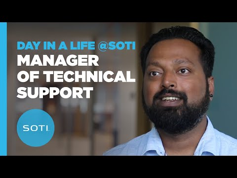 Day In The Life @ SOTI: Manager of Technical Support